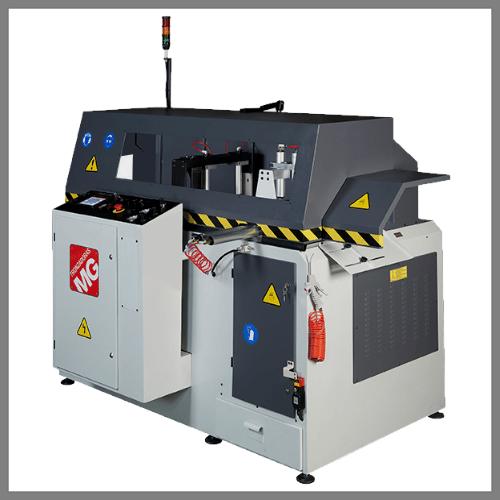 Automatische Aluminiumkreissäge GAA-500-90° CNC.Erhältlich bei Ritke, dem Partner für maßgeschneiderte Sägelösungen aus Steinau.