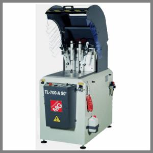 """Die halbautomatische Kreissäge TL-700-A 90° ist eine """"upcut"""" Maschine. Erhältlich bei Ritke, dem Partner für maßgeschneiderte Sägelösungen aus Steinau."""