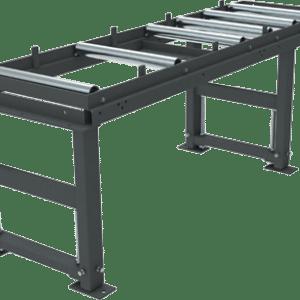 Rollenbahn System K für schnellen und zuverlässigen Warenfluss zur Maschine. Erhältlich bei Ritke, dem Partner für maßgeschneiderte Sägelösungen aus Steinau.