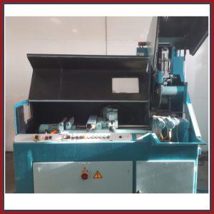 """GEBRAUCHTMASCHINE / Vollautomatische Kreissäge EISELE VA-L-PV (90°), """"down-cut"""" Maschine. Erhältlich bei Ritke, dem Partner für maßgeschneiderte Sägelösungen aus Steinau."""
